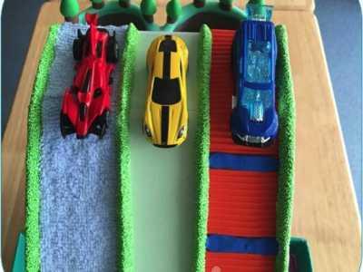 汽车教具 中班科学自制玩教具