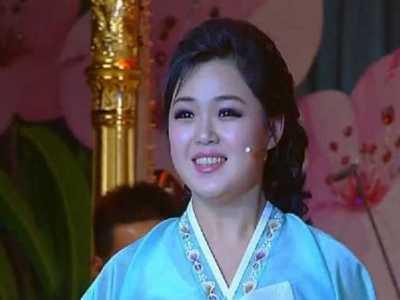 朝鲜明星 她比明星还火